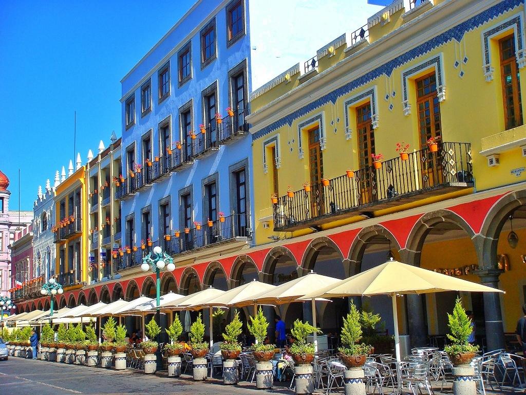 Los arcos del Centro Histórico de Puebla