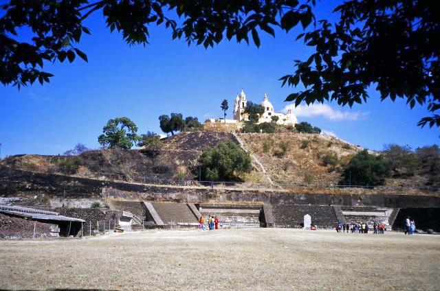 Zona arqueológica e Iglesia de Nuestra Señora de los Remedios
