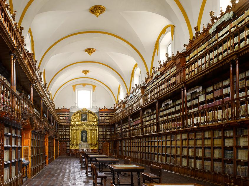 Biblioteca Palafoxiana, en Puebla, México