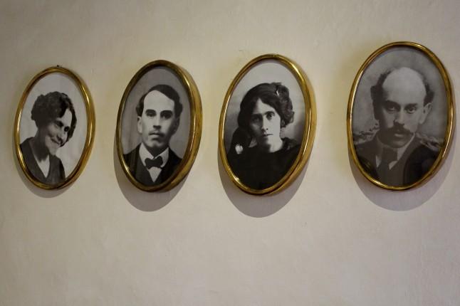 Miembros de la familia Serdán