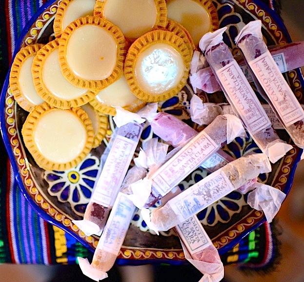 Tortitas de Santa Clara y camotes