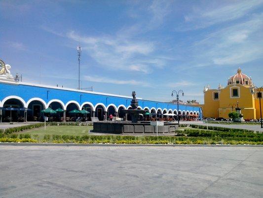 Plaza Principal de Cholula