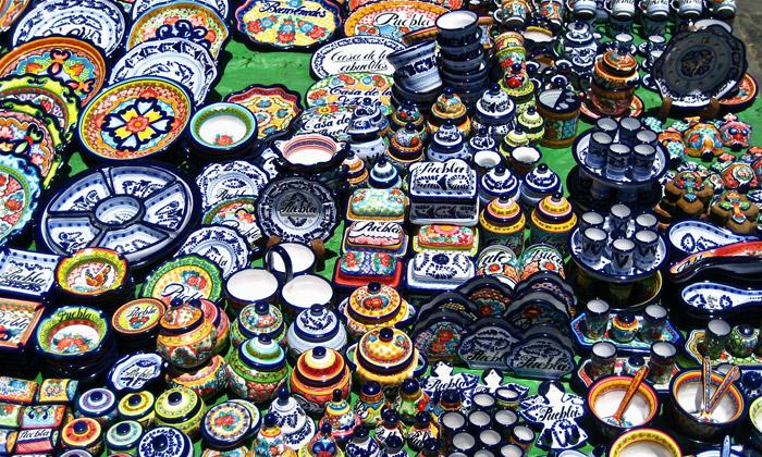Piezas de cerámica de talaveraPiezas de cerámica de talavera