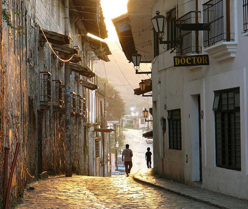 Calles de Cuetzalan