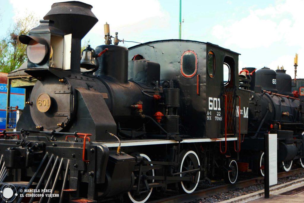 Impresionantes máquinas en un estado de conservación excelente que podemos encontrar en el Museo Nacional de los Ferrocarriles Mexicanos