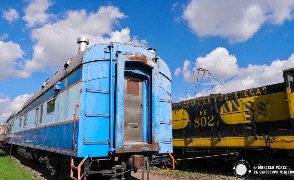 Visitar el Museo Nacional de los Ferrocarriles Mexicanos es hacer un viaje en el tiempo del México antiguo