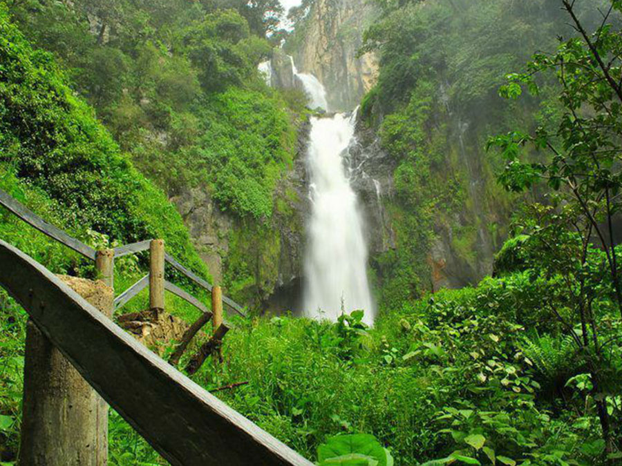 Escápese a contemplar la impresionante Cascada de Tulimán